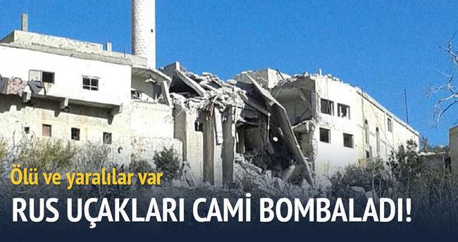 Rus savaş uçakları cami bombaladı