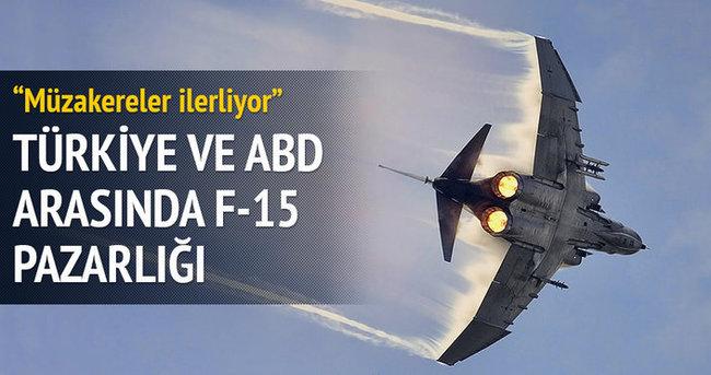 Türkiye ve ABD arasında Suriye sınırına F-15 pazarlığı