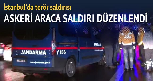 İstanbul'da askeri araca silahlı saldırı!