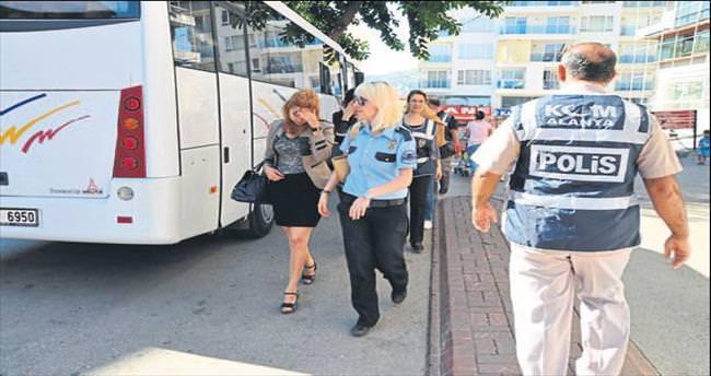 Alanya polisinin fuhuş operasyonu