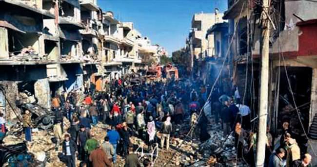 Humus'ta bombalı saldırı: 22 ölü
