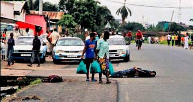 Burundi sokakları cesetlerle doldu