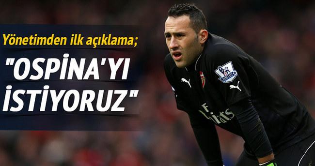 Beşiktaş yönetimi açıkladı: Ospina'yı istiyoruz