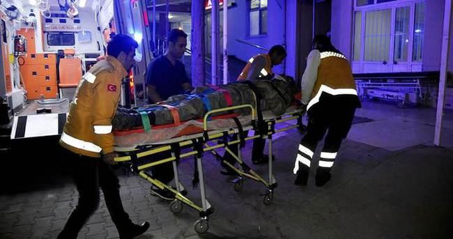 Askeri araç kaza yaptı: 4 yaralı