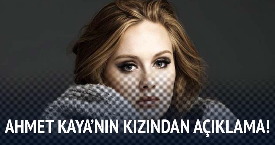 Ahmet Kaya'nın kızından Adele açıklaması!