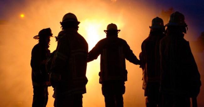 Dev tesisteki yangın 26 saatte söndürüldü