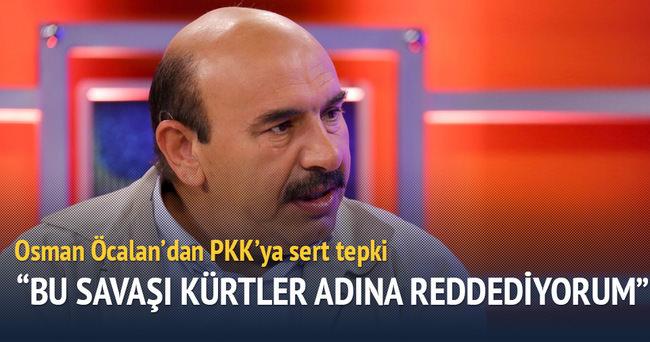 Osman Öcalan'dan PKK'ya sert çıkış!