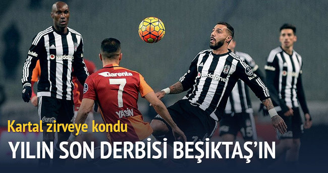 Yılın son derbisi Beşiktaş'ın