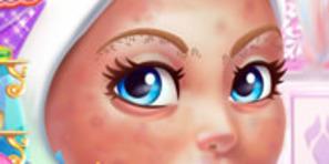 Barbie Masaj ve Makyaj Zamanı