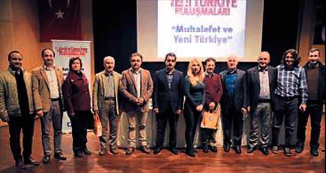 Muhalefet ve Yeni Türkiye konferansı