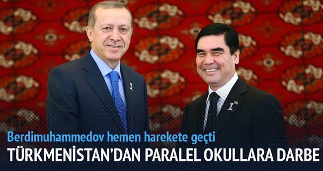 Türkmenistan'dan Paralel okullara darbe
