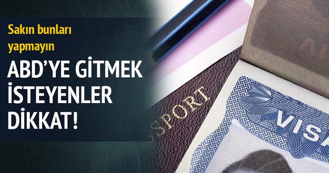Twitter'dan sallayana ABD vizesi yok
