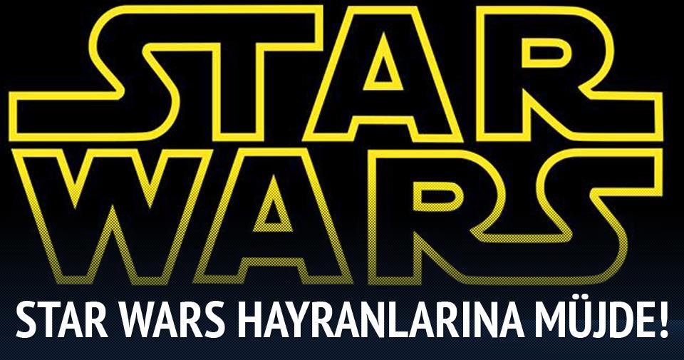 Star Wars hayranlarına sürpriz!
