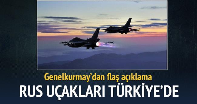 Rus uçakları Türk semalarında