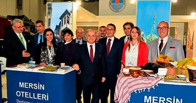 Mersin stantları İzmir'e damga vurdu