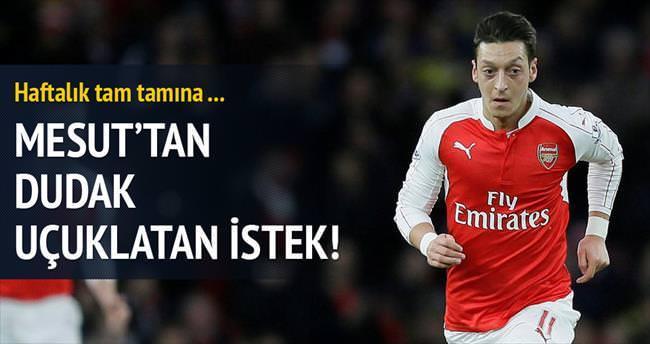 Mesut Özil zam istiyor