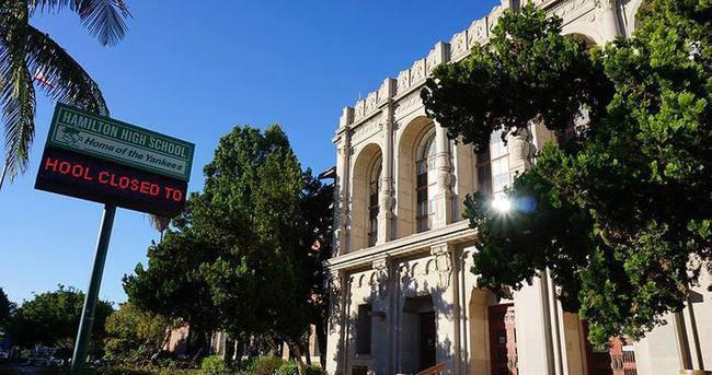 Los Angeles'ta okullar tehdit nedeniyle tatil