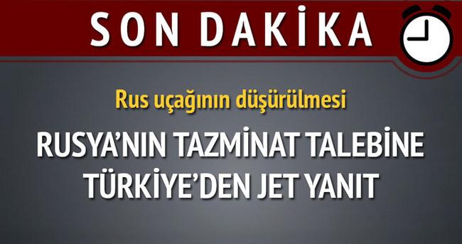 Türkiye'den Rusya'ya jet yanıt