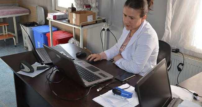 Sağlık merkezinden çalınan bilgisayarlar bulundu