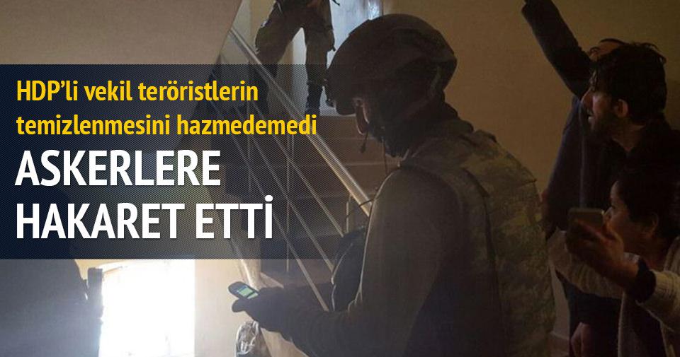 HDP'li Ferhat Encü askerlere hakaret etti