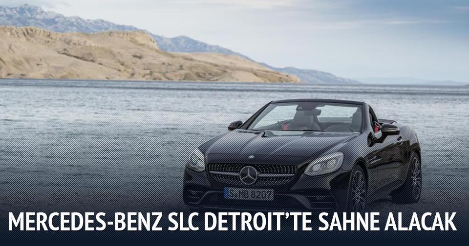 Mercedes-Benz SLC Detroit'te sahne alacak