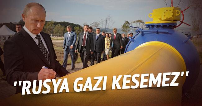 ''Rusya gazı kesemez''