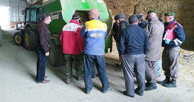 Saman makinesine sıkışan işçi hayatını kaybetti
