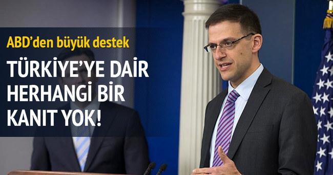 Türkiye'ye dair kanıt yok!