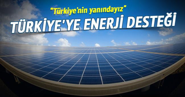 Katar'dan Türkiye'ye enerji desteği