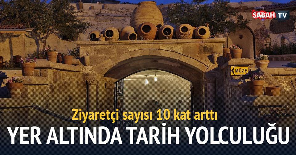 Türkiye'nin ilk yer altı müzesine ilgi artıyor