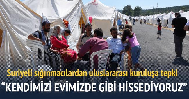 Uluslararası Af Örgütü'ne Türkiye'deki Suriyeli sığınmacılardan tepki