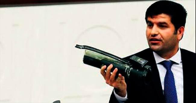 HDP'li Mehmet Ali Aslan TBMM kürsüsünü cephaneliğe çevirdi