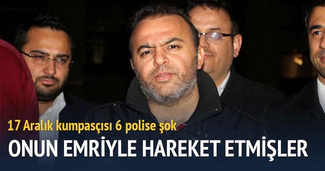 17 Aralık kumpasçısı 2 polise tutuklama