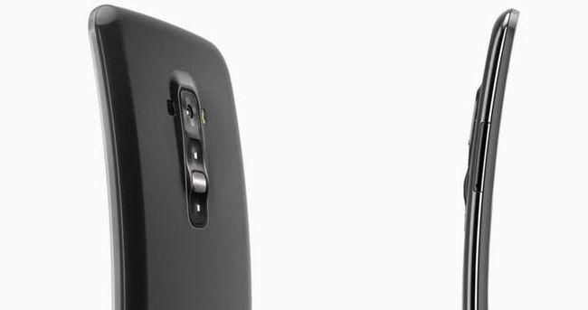 LG'den kavisli ekranlı yepyeni bir telefon