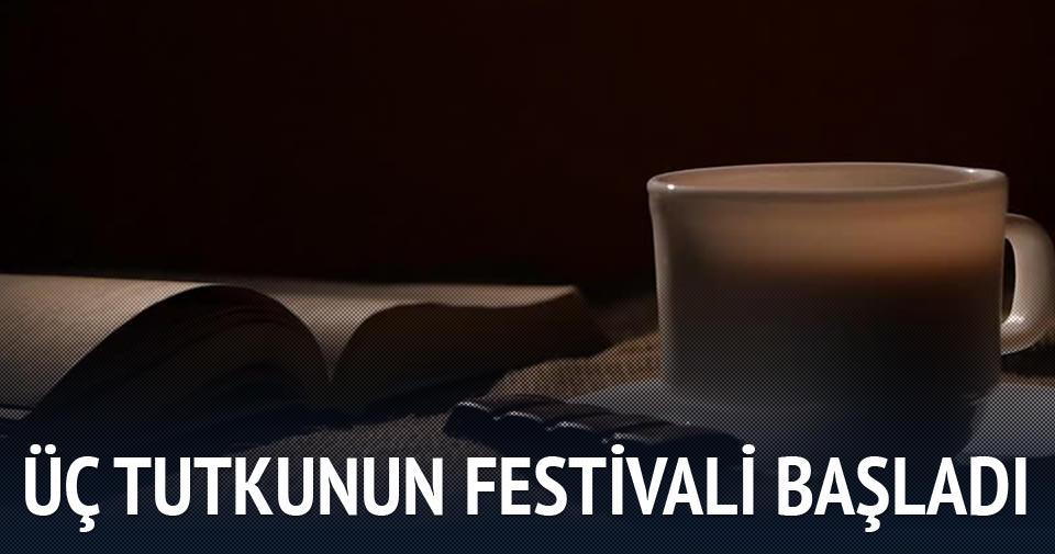 Üç Tutku: Kitap, Kahve ve Çikolata Festivali başladı