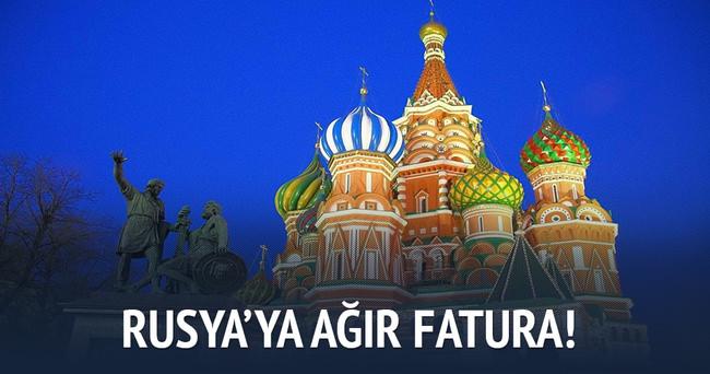 Rusya'ya ağır fatura!