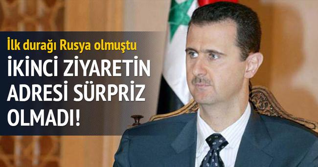 Esad ikinci yurtdışı ziyaretini İran'a yapacak