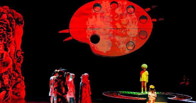Ankara Operası'nda Kalp Korosu zamanı