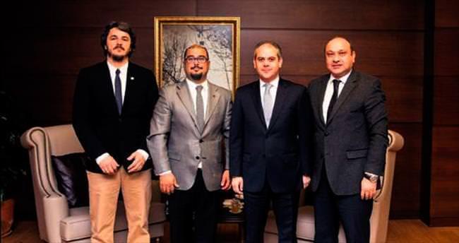 Bakan Akif Çağatay Kılıç TFMD heyetini kabul etti