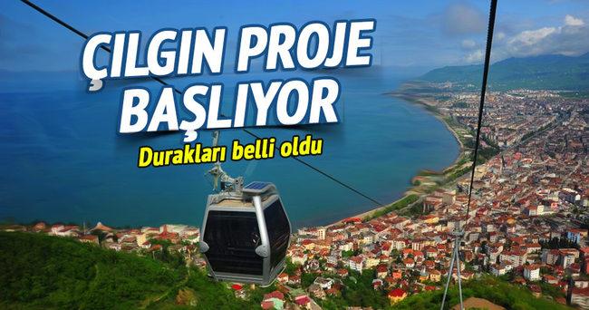 Mecidiyeköy-Çamlıca teleferik hattı başlıyor