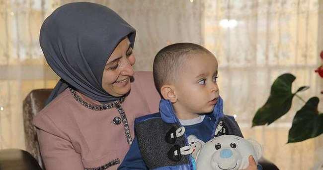 Sare Davutoğlu aile sağlığı merkezi açılışına katıldı