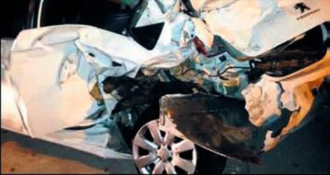 İHA ekibi haberden dönerken kaza yaptı