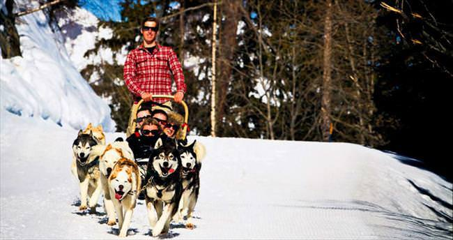 Fransa'da kayak tatili