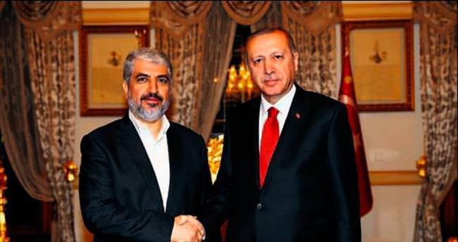 Hamas lideriyle İstanbul'da görüştü