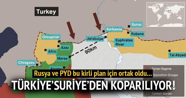 Rusya - Esed - İran ve PYD'nin Türkiye'yi Suriye'den koparma planı!