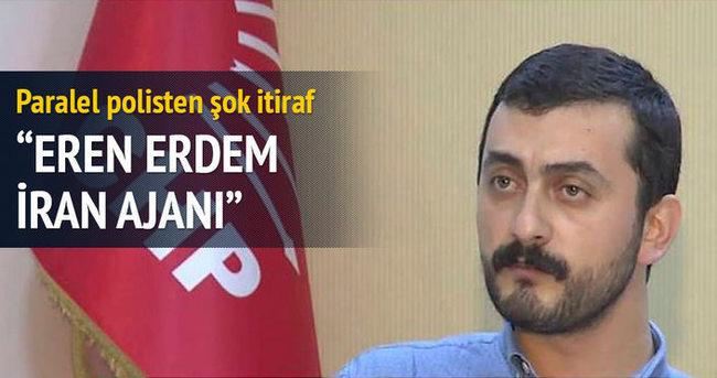 CHP'li Erdem Tahran'ın ajanı