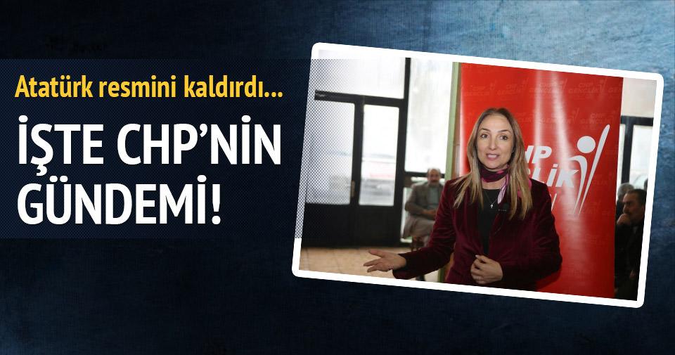 CHP'de gündem indirilen Atatürk resmi