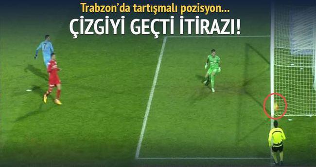 Trabzon'da tartışmalı pozisyon