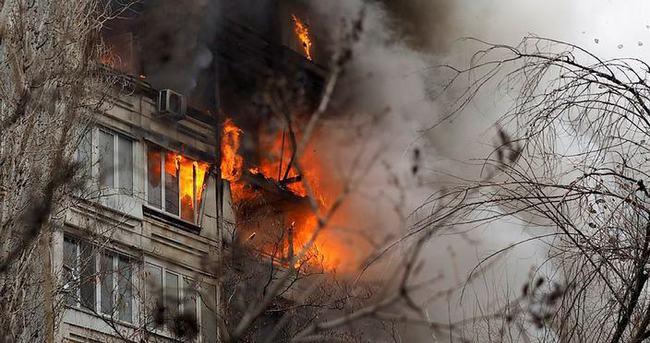 Rusya'da doğalgaz patlaması