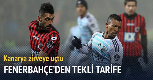 Fenerbahçe Gençlerbirliği'ni tek golle geçti